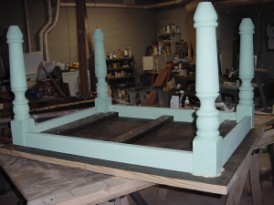 Porch Table in Construction