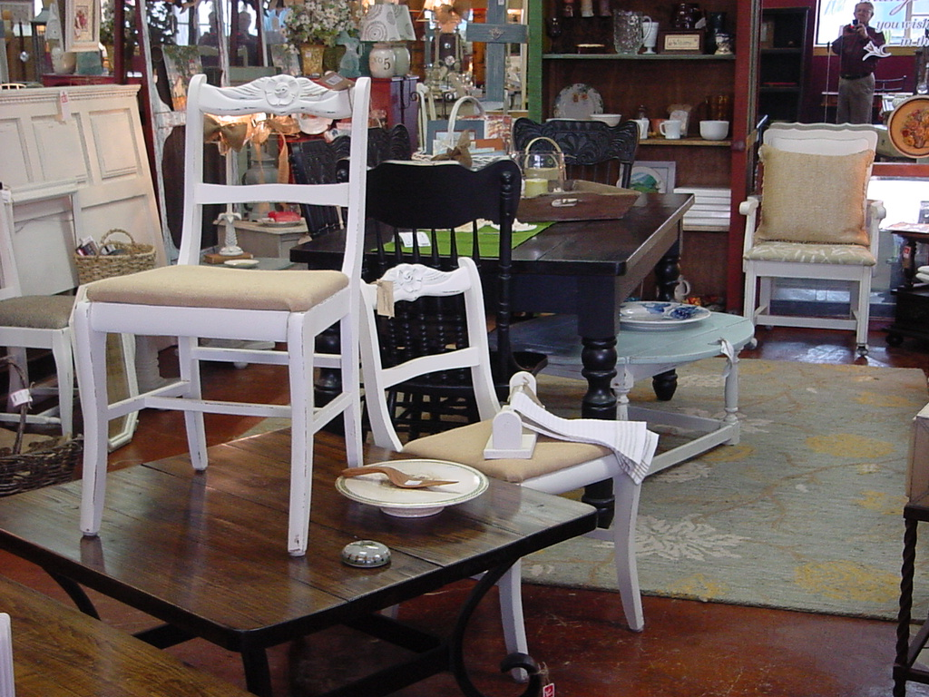 Just Fine Tables / J's-AVE Consignment Booth