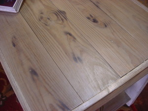 Distressed Table Top
