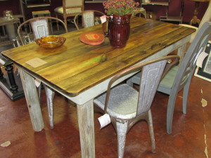 "31"" x 60"" Hand Crafted Farmhouse Rustic Table"