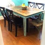 The Customer Specified Table in Her Home