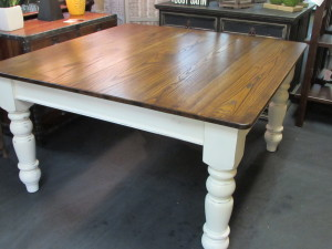 "54"" SQUARE FARM HOUSE TABLE"