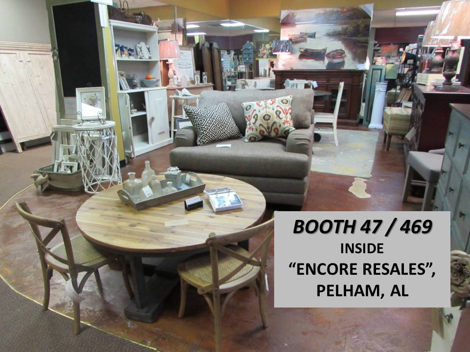 BOOTH 47 / 469 for  Just Fine Tables & J's-AVE