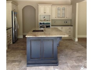 NEW HOME KITCHEN and ISLAND LOOK