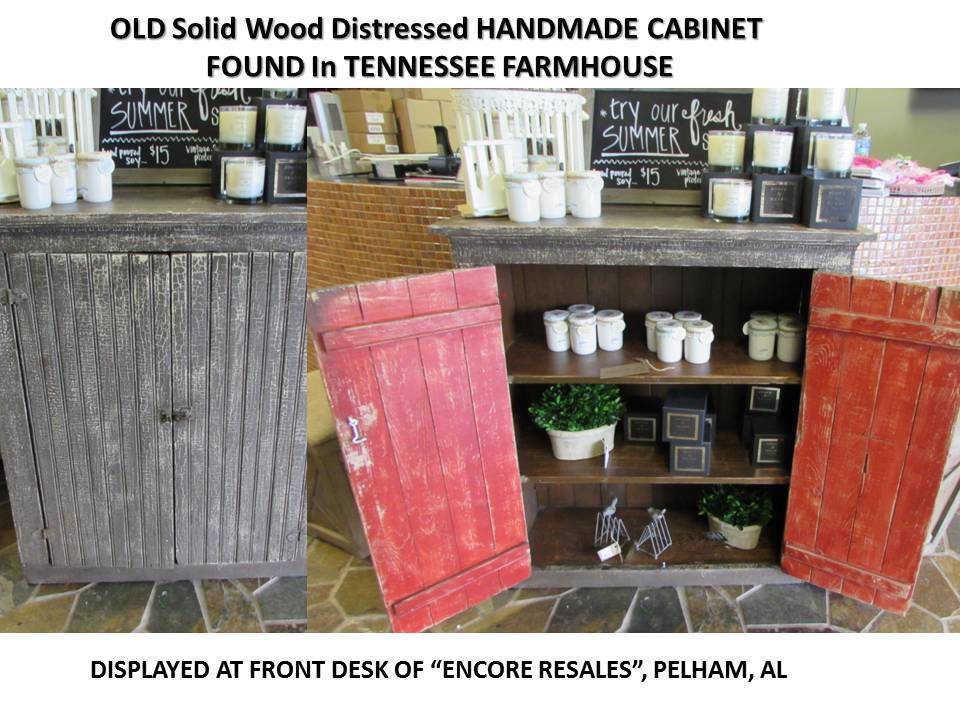 HANDMADE TENNESSEE FARMHOUSE CABINET