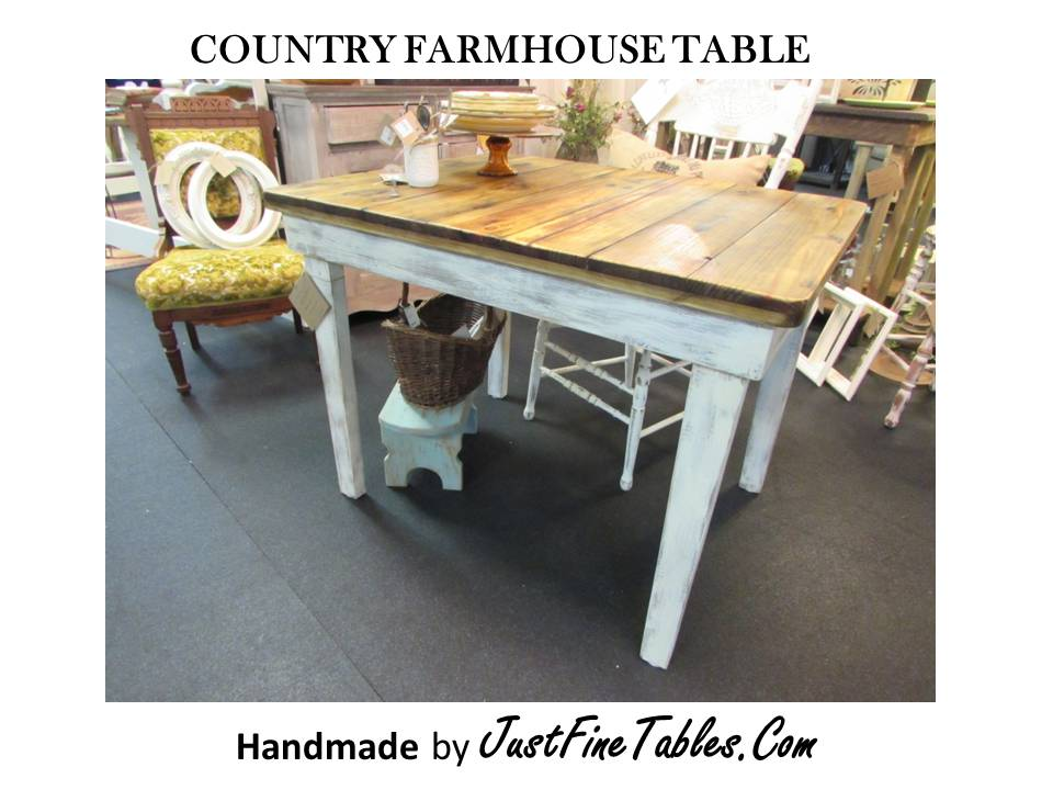 INDOOR / OUTDOOR FARM TABLE