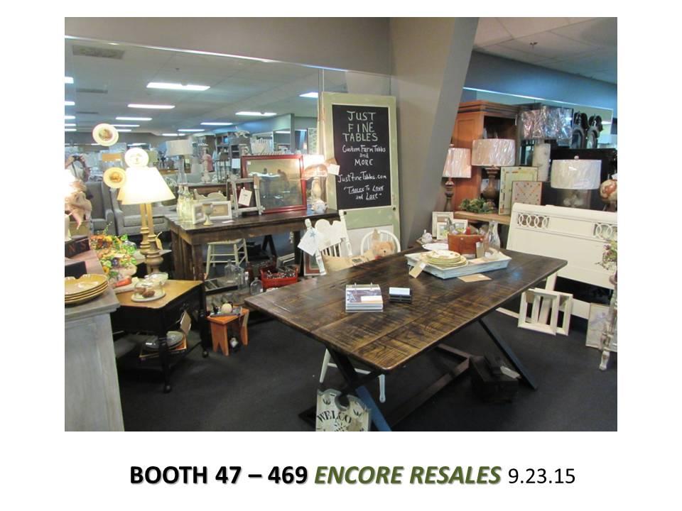 Booth 47-469 Encore Resales, Pelham, AL