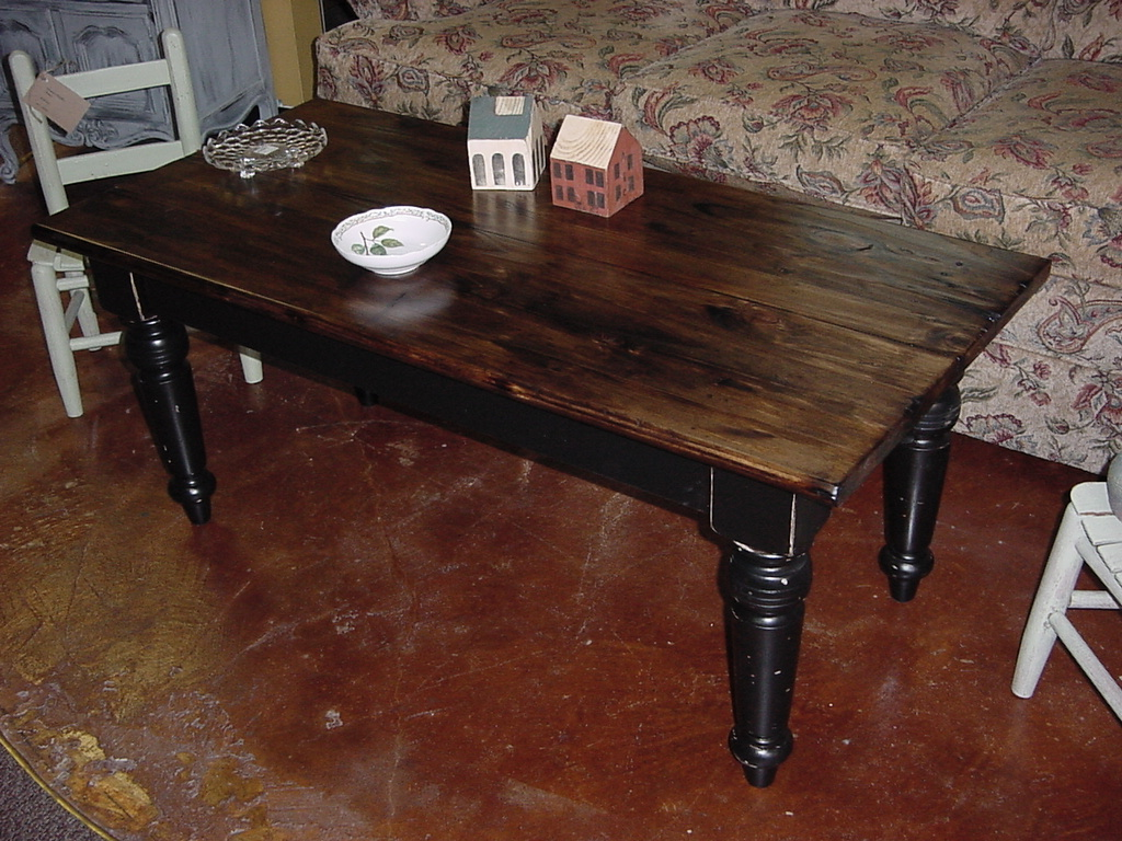 Custom Handbuilt Made In America Coffee Table Just Fine Tables