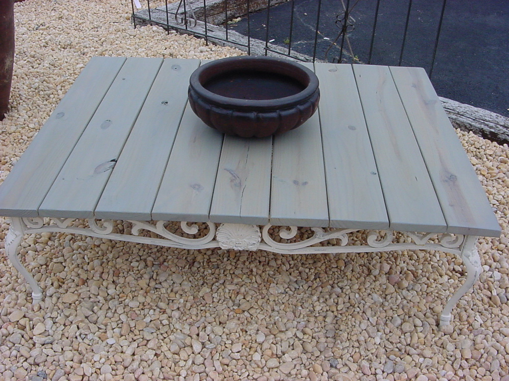 38 X 52 Outdoor Beach House Coffee Table Only 169 Just Fine Tables