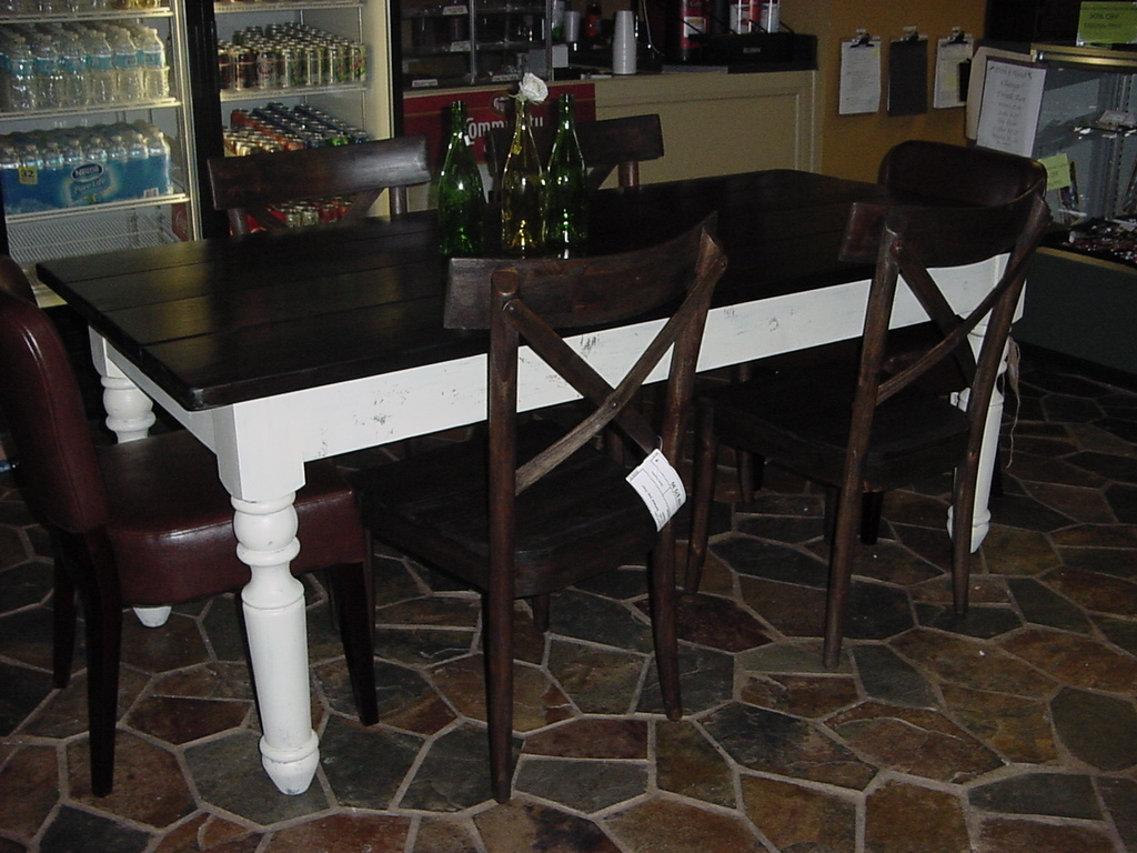 Large Country Chic Farm Table U2013 Seats 6 8