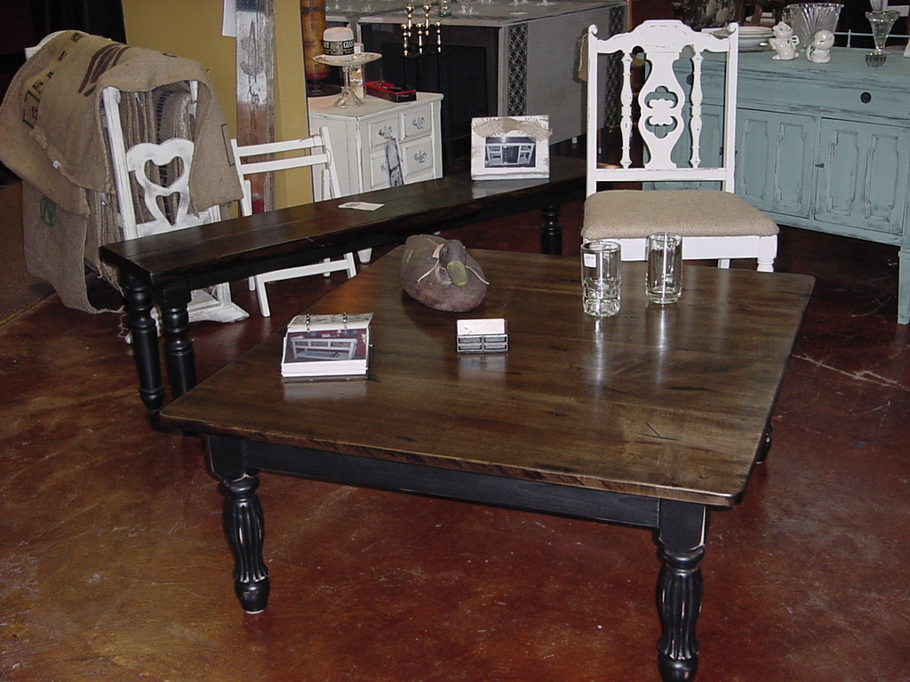 Man Cave Coffee Table : ″ maple top 'man cave coffee table just fine tables