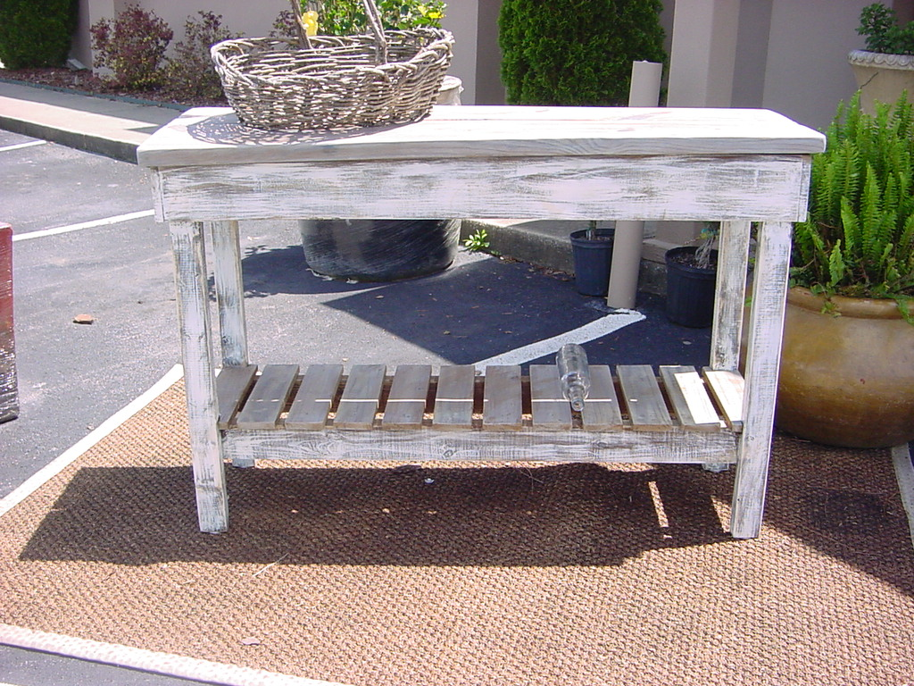 Rustic buffet table furniture - Outdoor Buffet Bar Table Island
