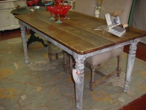 U0027Pottery Barnu0027 Style Rustic Farm Table. U0027