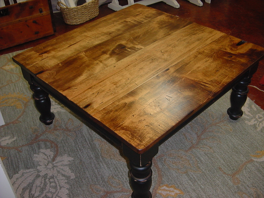 Man Cave End Table : Farm house table quot man cave coffee harvest