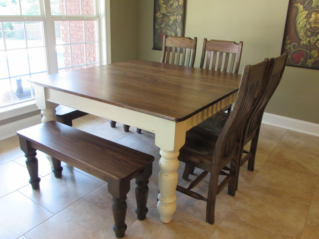 Farmhouse Kitchen Table Square just fine tables (farm tables to love and last)