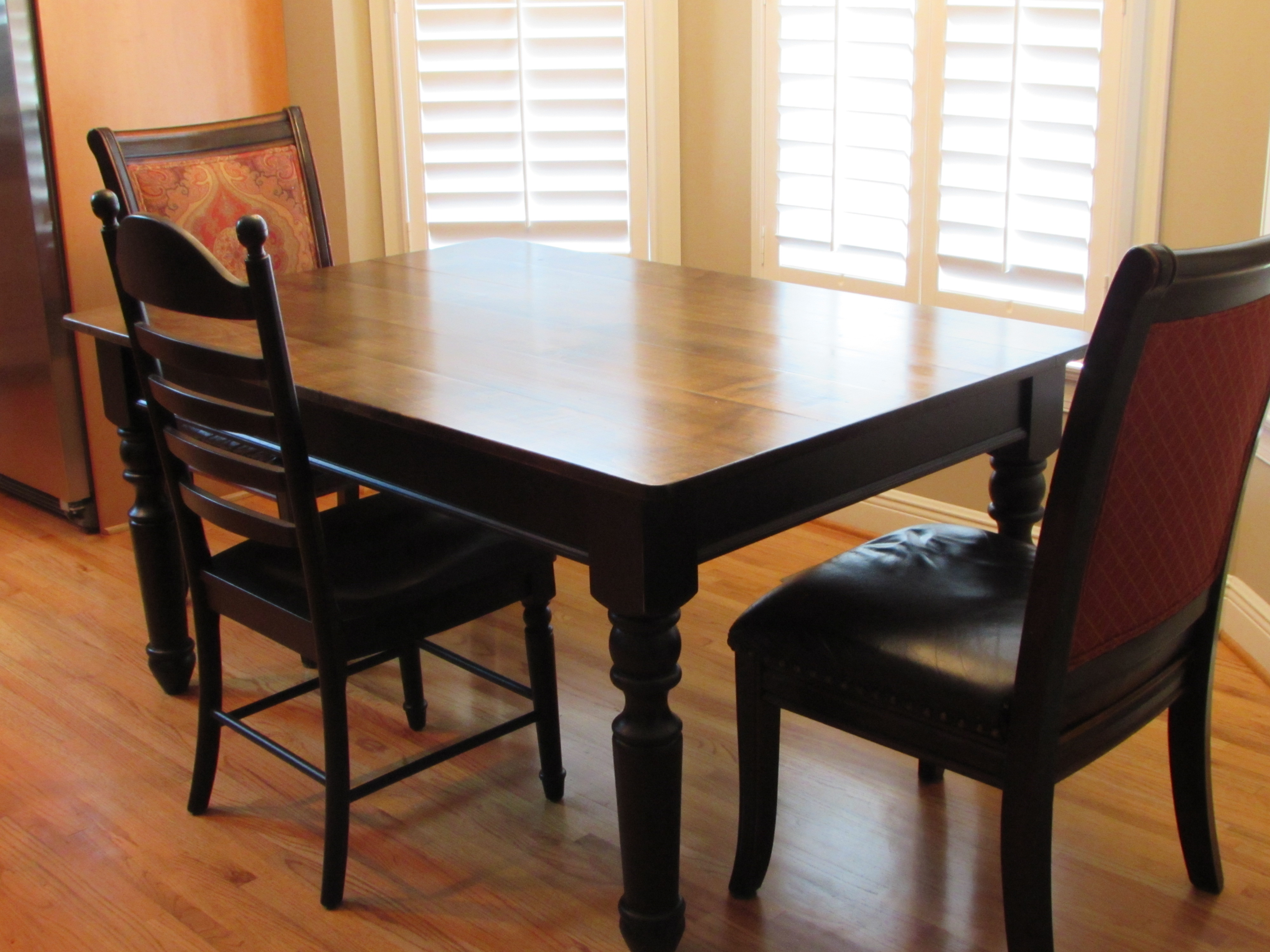 Handmade kitchen table 28 images handmade custom kitchen table by black sons furniture oak - Custom kitchen table ...