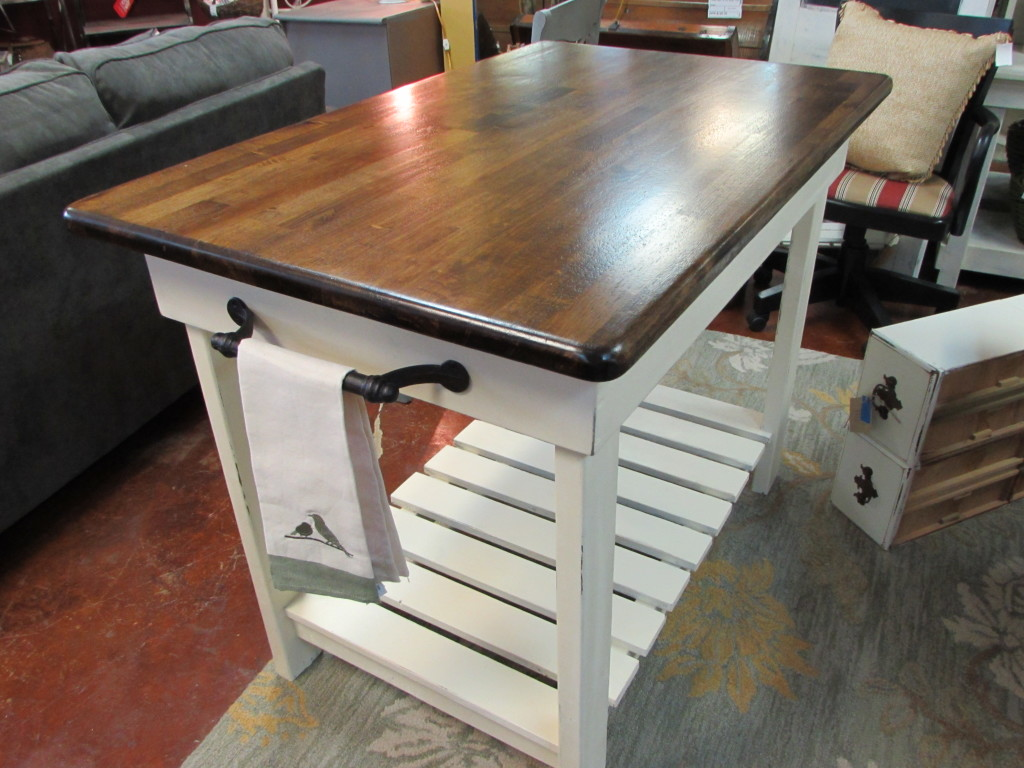 Handmade Kitchen Island and \