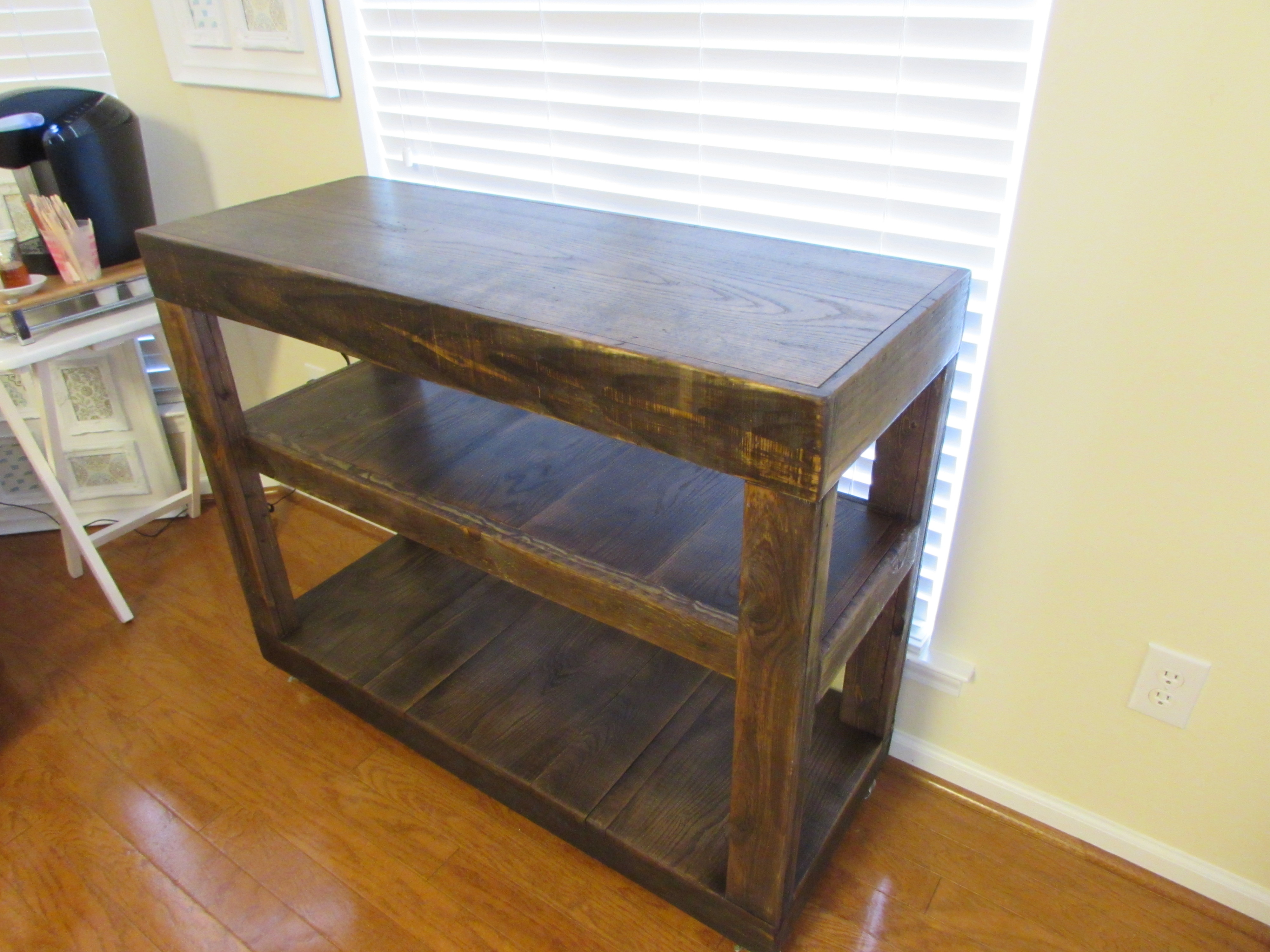 Custom Rustic Kitchen Islands custom handmade rustic oblong dining table | just fine tables